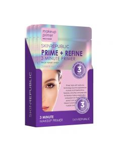 Skin Republic Prime + Refine Face Mask 18ml Pack of 10