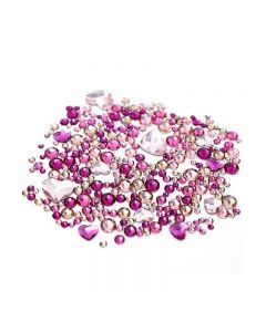 Swarovski Crystals for Nails Hearts Mix x 270