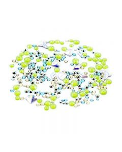 Swarovski Flatback Crystals for Nails Spring Mix x 260