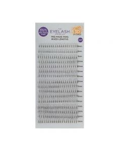 The Eyelash Emporium Special Effects Pre-Made Fans 3D 0.07 D Curl