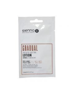 Sienna X Gradual Untinted Self Tan Lotion Sachet 15ml x 1