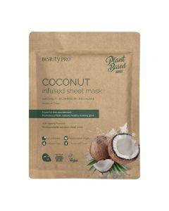 BeautyPro Plant Based COCONUT OIL INFUSED Sheet Mask 22ml