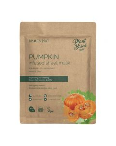BeautyPro Plant Based PUMPKIN INFUSED Sheet Mask 22ml