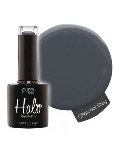 Halo Gel Polish Charcoal Grey 8ml