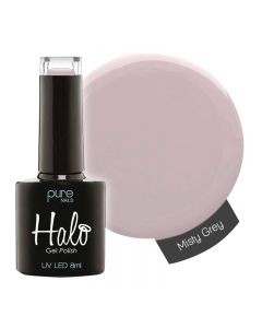 Halo Gel Polish Misty Grey 8ml