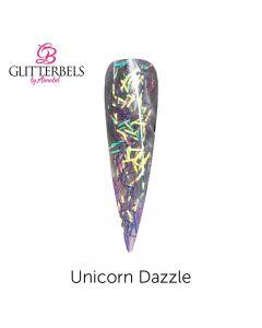 Glitterbels Pre Mixed Glitter Acrylic Powder 28g Unicorn Dazzle