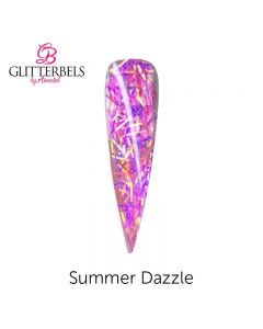 Glitterbels Pre Mixed Glitter Acrylic Powder 28g Summer Dazzle