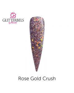 Glitterbels Pre Mixed Glitter Acrylic Powder 28g Rose Gold Crush