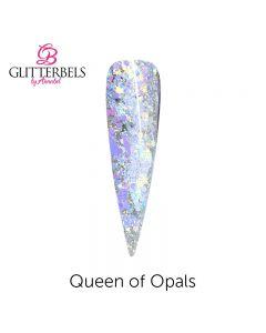 Glitterbels Pre Mixed Glitter Acrylic Powder 28g Queen of Opals
