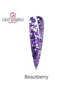 Glitterbels Pre Mixed Glitter Acrylic Powder 28g Beautberry