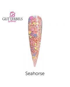 Glitterbels Pre Mixed Glitter Acrylic Powder 28g Sea Horse