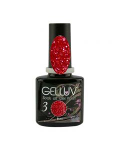 Gelluv Candy Cane 8ml Gel Polish All That Glitters Collection