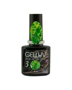 Gelluv Emerald Bow 8ml Gel Polish All That Glitters Collection