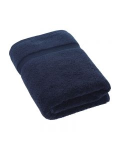 Luxury Boutique Navy Bath Towel 70 x 140cm