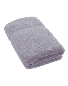 Luxury Boutique Silver Bath Towel 70 x 140cm