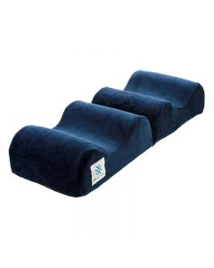 Memory Foam Knee and Ankle Pillow Navy
