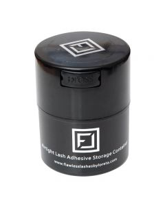 Flawless Lashes by Loreta Lash Glue Container