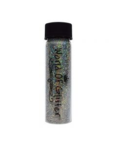 World Of Glitter London Super Charged Silver Holo Nail Glitter 10g