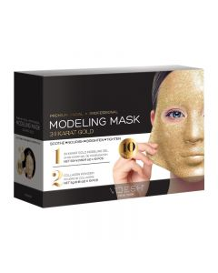 Voesh Facial Modeling Mask 24 Karat Gold 10 Treatments