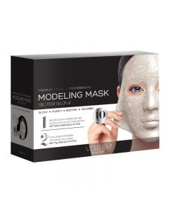 Voesh Facial Modeling Mask 24 Silver Glow 10 Treatments