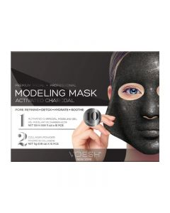 Voesh Facial Modeling Mask Activated Charcoal 10 Treatments