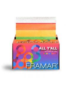 Framar All YAll Pop up Foil Sheets x 500 (28cm x 13cm)