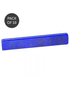 Lotus Blue Jumbo Sanding File 100 Grit Pack Of 10