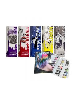 Pulp Riot Paint By Numbers & Removal Creative Kit