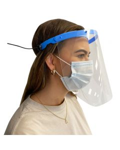Salons Direct Protective Facial Shield With 10 Replacement Visors