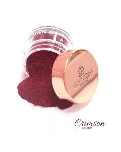 Glitterbels Loose Glitter 15g Crimson Fine