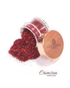 Glitterbels Loose Glitter 15g Crimson Medium