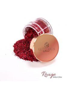 Glitterbels Loose Glitter 15g Rouge Medium