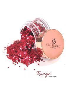 Glitterbels Loose Glitter 15g Rouge Chunky