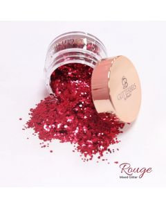 Glitterbels Loose Glitter 15g Rouge Mixed