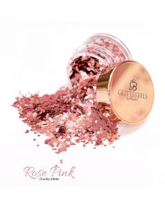 Glitterbels Loose Glitter 15g Rose Pink Chunky