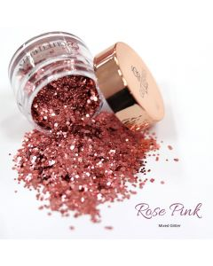 Glitterbels Loose Glitter 15g Rose Pink Mixed