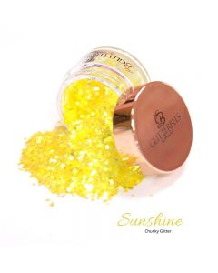 Glitterbels Loose Glitter 15g Sunshine Chunky