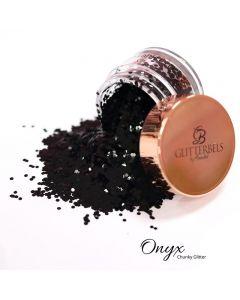 Glitterbels Loose Glitter 15g Onyx Chunky
