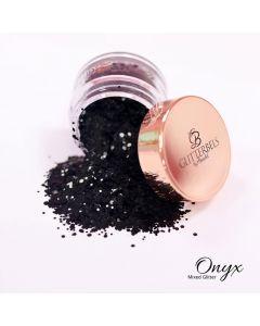 Glitterbels Loose Glitter 15g Onyx Mixed