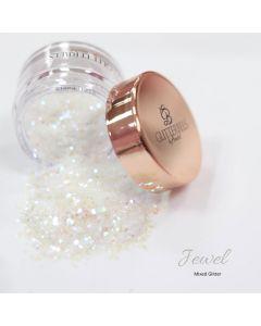 Glitterbels Loose Glitter 15g Jewel Mixed