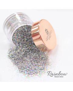 Glitterbels Loose Glitter 15g Rainbow Medium