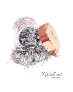 Glitterbels Loose Glitter 15g Rainbow Chunky