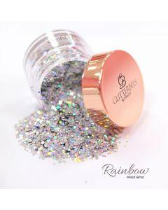 Glitterbels Loose Glitter 15g Rainbow Mixed