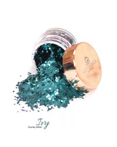 Glitterbels Loose Glitter 15g Ivy Chunky