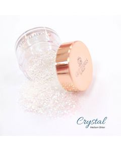 Glitterbels Loose Glitter 15g Crystal Fine