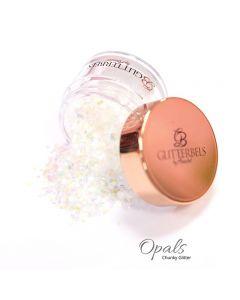 Glitterbels Loose Glitter 15g Opals Chunky