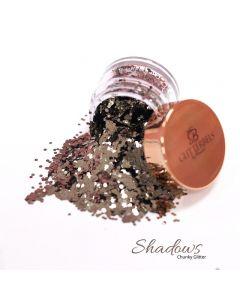 Glitterbels Loose Glitter 15g Shadows Chunky
