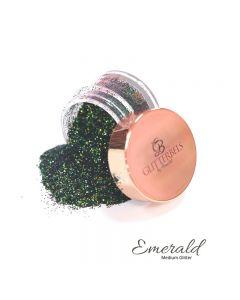 Glitterbels Loose Glitter 15g Emerald Medium