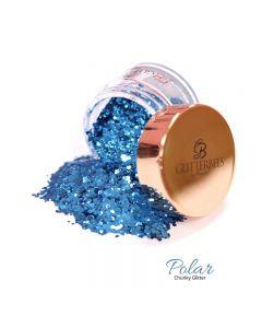 Glitterbels Loose Glitter 15g Polar Chunky