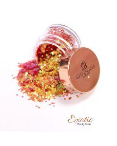 Glitterbels Loose Glitter 15g Exotic Chunky